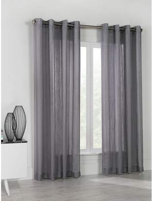 Commonwealth Home Fashions Stella Linen-Look Panel