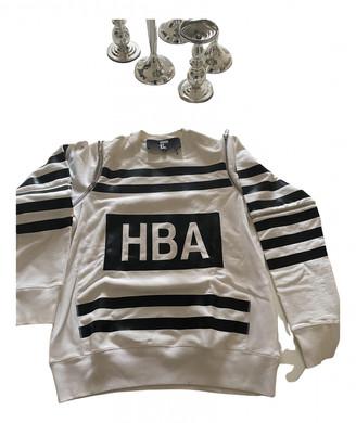 Hood by Air White Cotton Knitwear