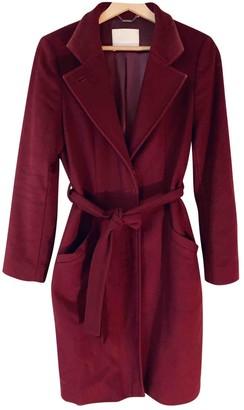 HUGO BOSS \N Burgundy Cashmere Coat for Women