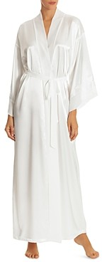 Jonquil Long Satin Robe