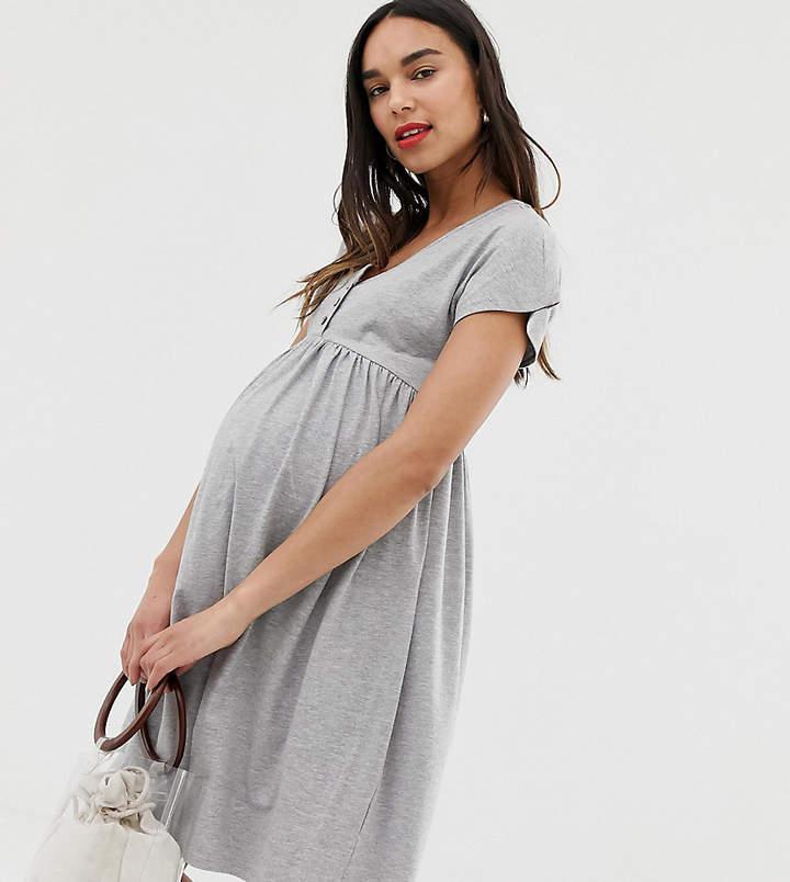 dc7541e5401b7 New Look Grey Maternity Clothing - ShopStyle UK