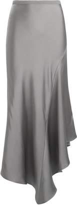 Anine Bing Bailey Asymmetrical Silk Skirt