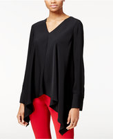 Rachel Roy Draped Asymmetrical Top, Only at Macy's