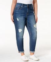 Melissa McCarthy Bonafide Wash Straight-Leg Jeans