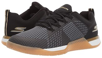 Skechers Performance Go Train - Viper (Black/Gold) Men's Lace up casual Shoes