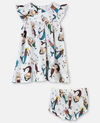 Stella McCartney mermaids cotton dress