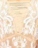Asos Premium Cami With Fringe Detail And Beaded Embellishment
