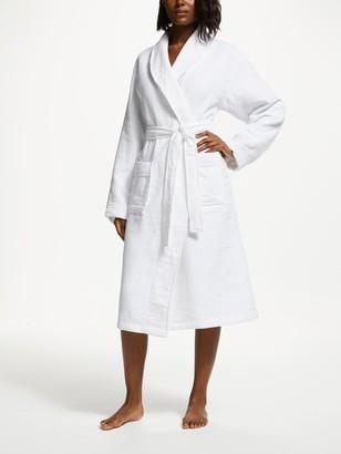 John Lewis & Partners Honeycomb Waffle Unisex Bath Robe