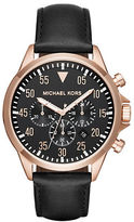 Michael Kors Gage Round Strap Chronograph Watch