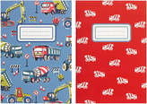 Cath Kidston Construction Site 2 Pack Note Pad