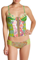 Maaji Hearts and Crafts Reversible Soft Cup Bustier Bikini Top