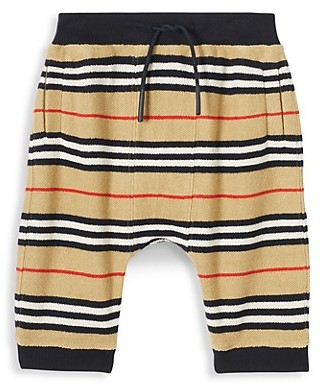 Burberry Baby's & Little Kid's Lance Striped Jogging Pants