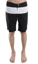 Rag & Bone Harbour Short in Black/White