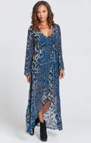 MUMU Anita Wrap Kimono ~ The Vinings Burn Out