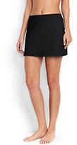 Lands' End Women's Petite SwimMini Skirt Control-Light Fuchsia