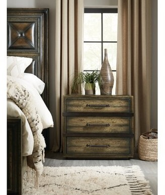 Hooker Furniture American Life-Crafted 3 Drawer Nightstand