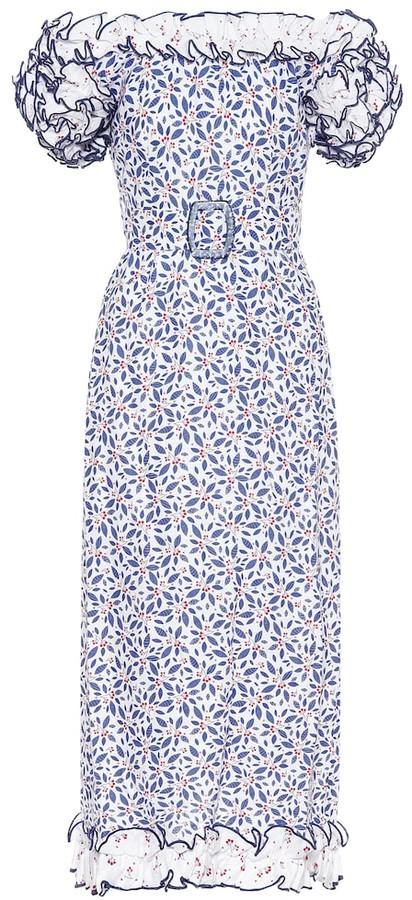 Gül Hürgel Exclusive to Mytheresa Floral linen dress