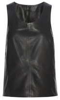 Calvin Klein Jeans Exclusive to mytheresa.com – Racer leather tank top