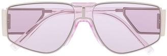 Givenchy Side-Shield Geometric Sunglasses