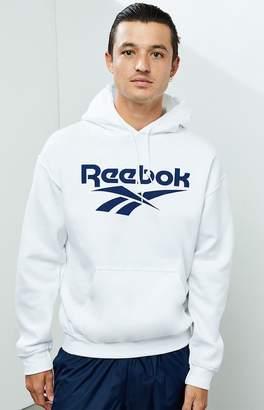 Reebok White Vector Hoodie