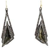 Alexis Bittar Dangling Crystal Geometric Drop Earrings