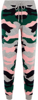 Chinti and Parker Intarsia Wool And Cashmere-blend Track Pants - Green