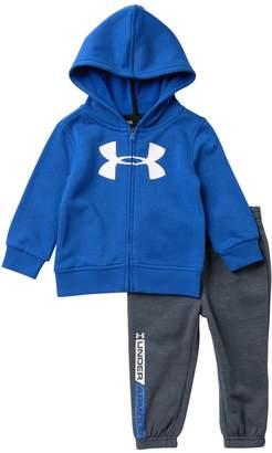 Under Armour Logo Jacket & Pants Set (Baby Boys)