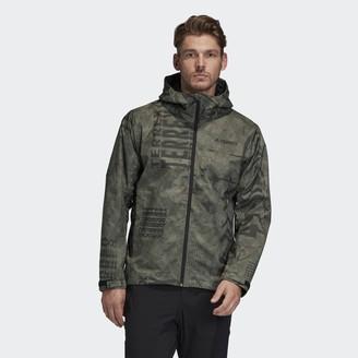 adidas Terrex Camo Rain Jacket