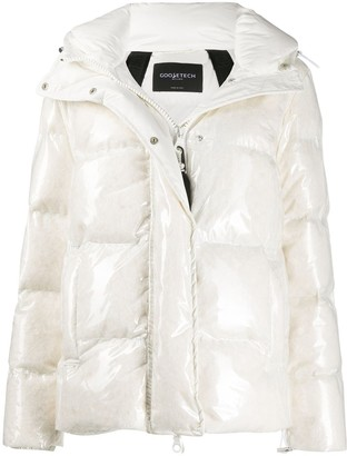 Goose Tech Hooded Puffer Jacket