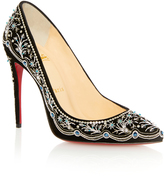 Christian Louboutin M'O Exclusive: Embroidered Pigalle Pump