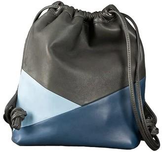 Mini Mavis Drawstring Backpack In Storm/Ice/Petrol