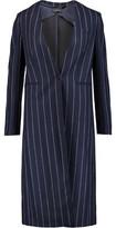 Joseph Laure Pinstriped Wool Coat
