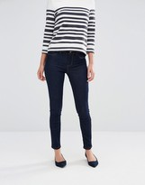 Oasis Rinse Wash Mid Rise Skinny Denim Jeans