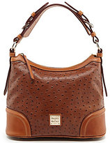 Dooney & Bourke Dillards 75th Anniversary Ostrich Collection Hobo Bag