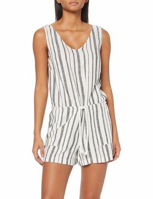 Find. Amazon Brand Women's Linen Sleeveless Playsuit
