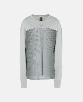 adidas by Stella McCartney Stella McCartney grey long-sleeve training top