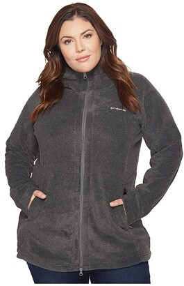 Columbia Plus Size Benton Springstm II Long Hoodie (Seminole) Women's Sweatshirt