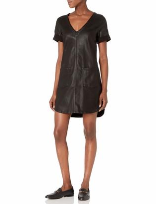 7 For All Mankind Women's Short Sleeve Popover Dress Dress