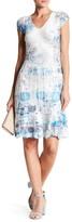 Komarov Lace Trim Dress