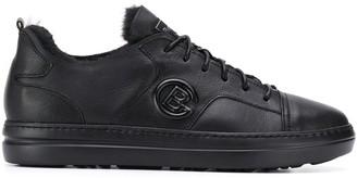 Baldinini lined side logo sneakers