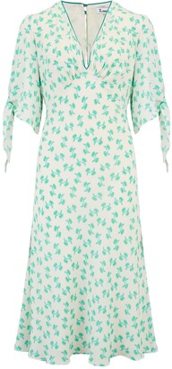 Libelula Tamara Dress White & Turquoise Hiawatha Print