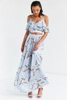 Oh My Love Veratrum High-Rise Maxi Skirt