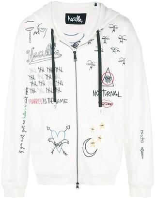 Haculla Nocturnal zip-front hoodie