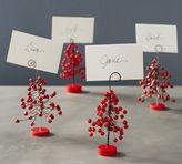 Pottery Barn Berry Place Card Holder, Set of 4