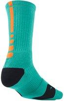 Nike Men's Elite Crew Basketball Socks Retro/Citrus SX3629-481