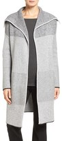 Nordstrom Women's Mixed Rib Cashmere Open Front Cardigan