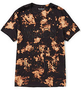 GUESS Short-Sleeves Vibes All Night V-Neck T-Shirt