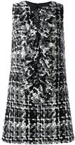 Dolce & Gabbana tweed dress - women - Silk/Cotton/Acrylic/Wool - 44