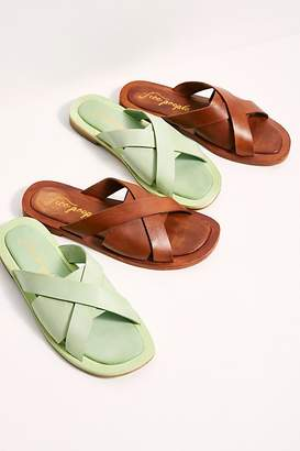 Free People Fp Collection Del Mar Slide Sandals by FP Collection at