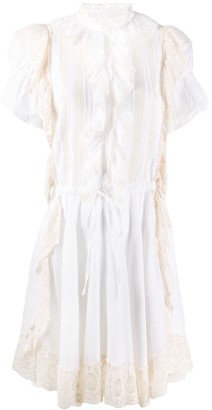 Zadig & Voltaire Rank ruffle-trimmed dress